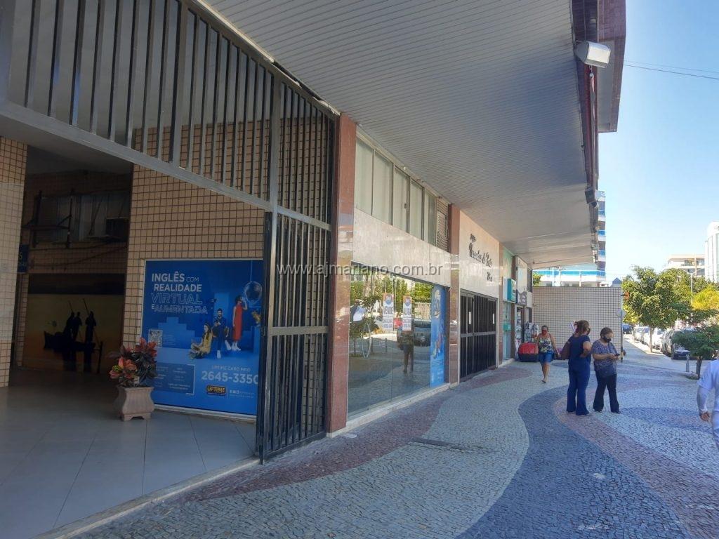 Loja comercial no Centro